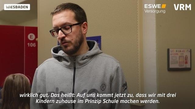 Wiesbadener Familien reagieren auf Schulschließungen