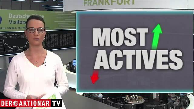 Most Actives: Varta, Telekom, Deutsche Bank