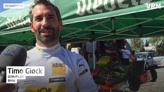 Timo Glock gibt Gas und hat Spaß im Kart