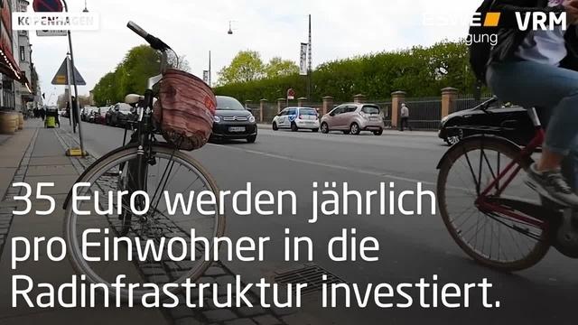 Kopenhagen: Fahrräder haben Vorrang