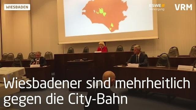 Pressekonferenz zum Ergebnis der Bürgerbefragung City-Bahn