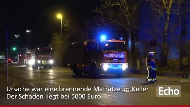 Großeinsatz der Feuerwehr in Kelsterbach