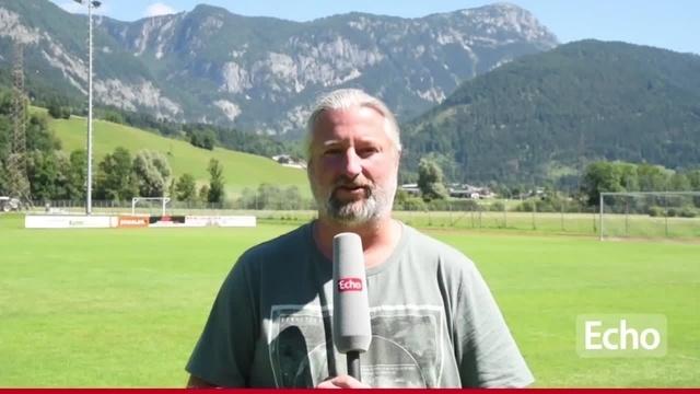 Jan Felber zum Trainingslager der Lilien in Österreich