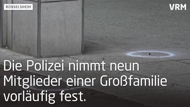 Schüsse in der Rüsselsheimer Innenstadt