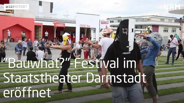 Das Bauwhat-Festival in Darmstadt