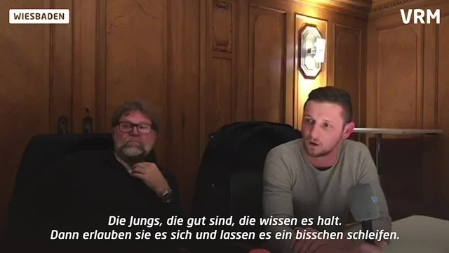 Fußball-Talk in Wiesbaden