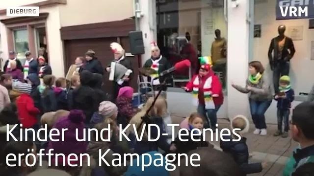 Kinder eröffnen in Dieburg Fastnacht
