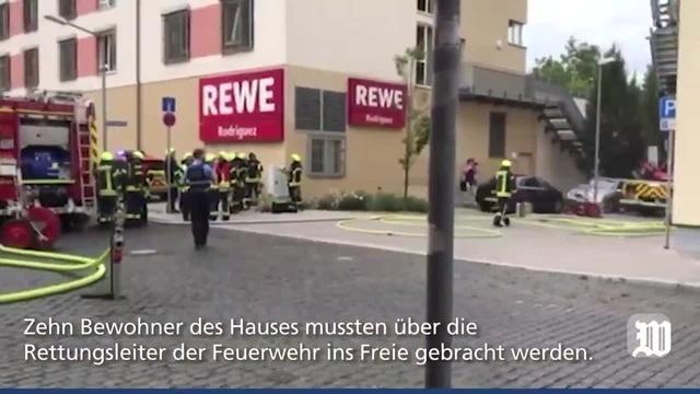 Worms: Feuer in der Liebenauer Straße