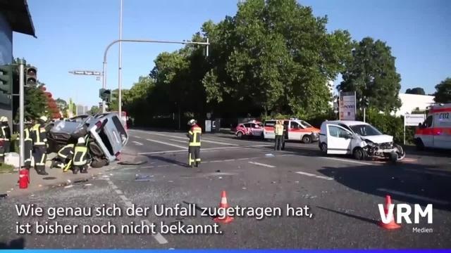 Schwerer Unfall auf Hagenauer Straße in Wiesbaden