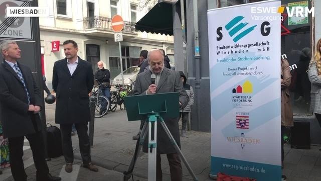 Wiesbaden: Fußgängerzone für ein Jahr
