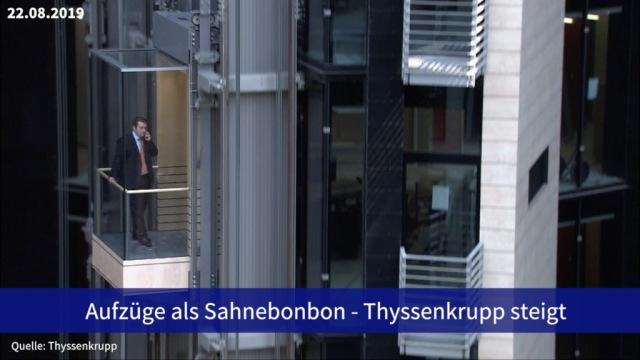 Aktie im Fokus: Aufzüge als Sahnebonbon - Thyssenkrupp steigt