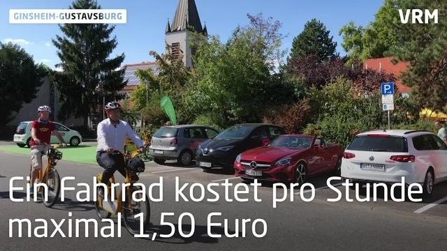 Ginsheim-Gustavsburg eröffnet Bike- und Carsharing