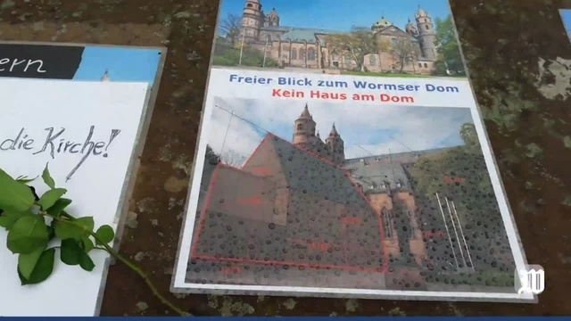 Worms: Richtfest für Haus am Dom