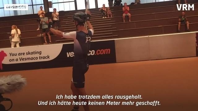 Darmstädter Speedskater laufen Stundenweltrekorde