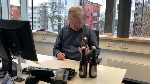 Online-Adventsbierprobe mit Lars Hennemann für Echo hilft!