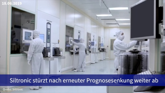 Aktie im Fokus: Siltronic stürzt nach erneuter Prognosesenkung weiter ab