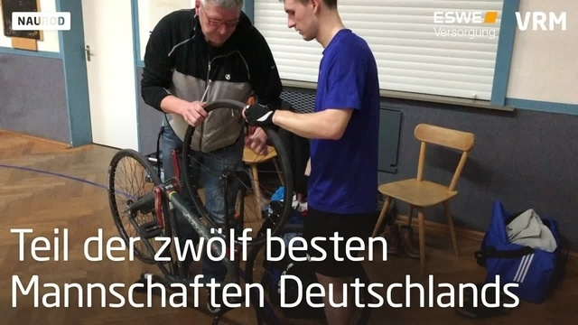 Radballer vom RVW Naurod in der 1. Bundesliga