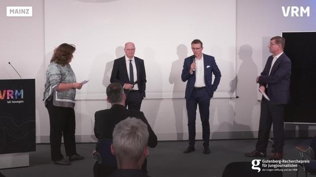Gutenberg-Recherchepreis: Gespräch mit den Initiatoren