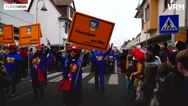 Fastnachtsumzug in Flörsheim am Main