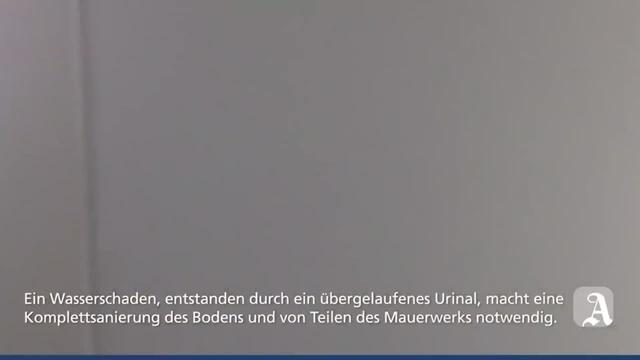 Alzey: Sanierung nach Wasserschaden