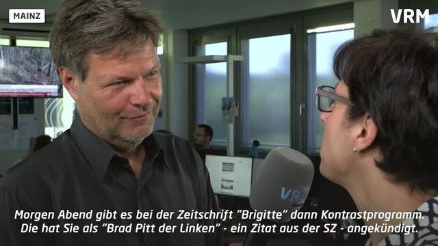 Grünen-Chef Habeck zu Gast bei der VRM