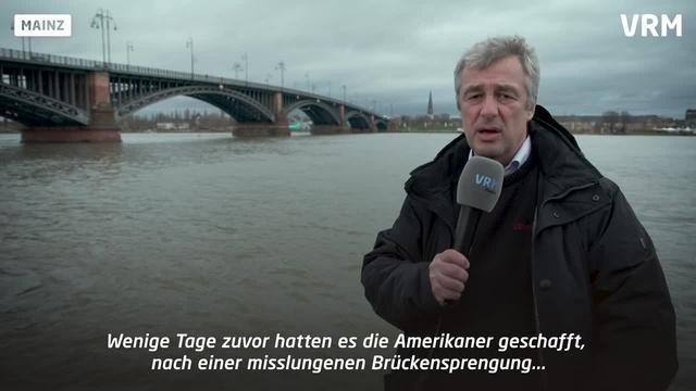 Kriegsende in Mainz: Die Bedeutung der Brücken