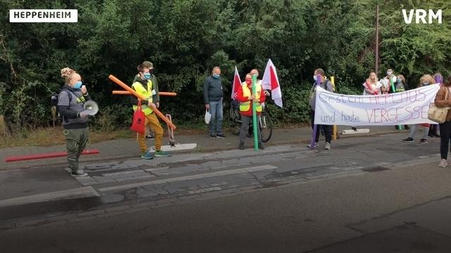 Pflegekräfte im Kreis Bergstraße streiken