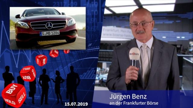 Analyser to go: Milliardenverlust bei Daimler - halb so schlimm
