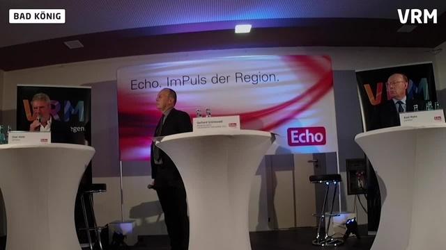 Echo-Podium zur Bürgermeisterwahl in Bad König Teil 3