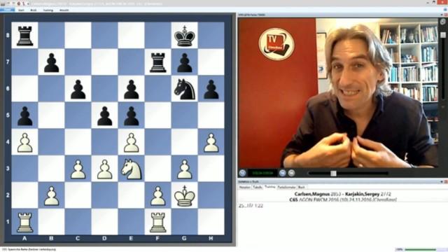 Wie Carlsen seinen ersten Sieg sicherte