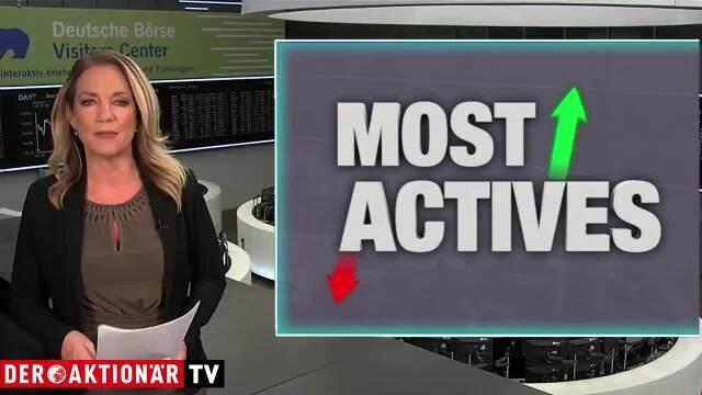 Most Actives: Telekom, ProSiebenSat.1 und Lufthansa