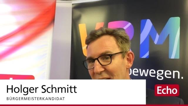 ECHO-Podium zur Bürgermeisterwahl in Rimbach