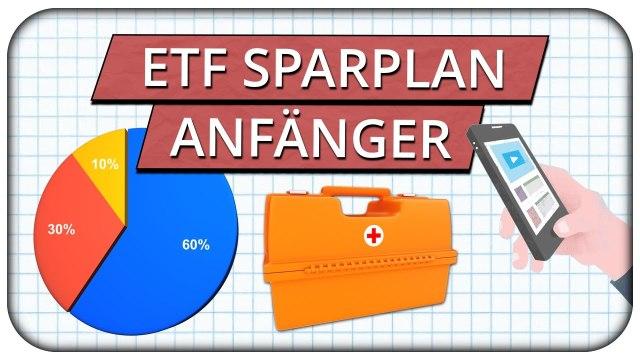 ETF Sparplan ab 25€ einrichten Praxisbeispiel - Portfolio Schritt-für-Schritt für Anfänger ?
