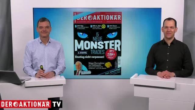 DER AKTIONÄR Nr. 04/19: Fünf neue Monster Trades