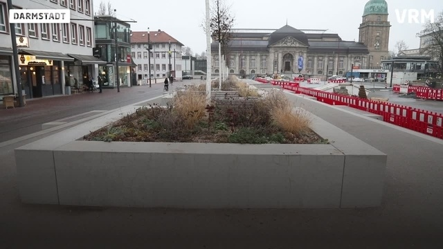 Darmstadts hässlichste Orte - Platz 10: Friedensplatz