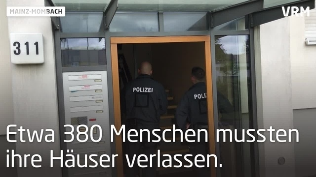 Bankautomat in Mainz-Mombach wird geöffnet