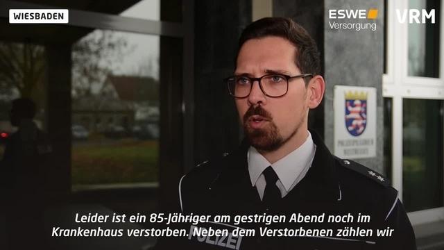 Polizei Wiesbaden: Gaffer-Videos nicht verbreiten