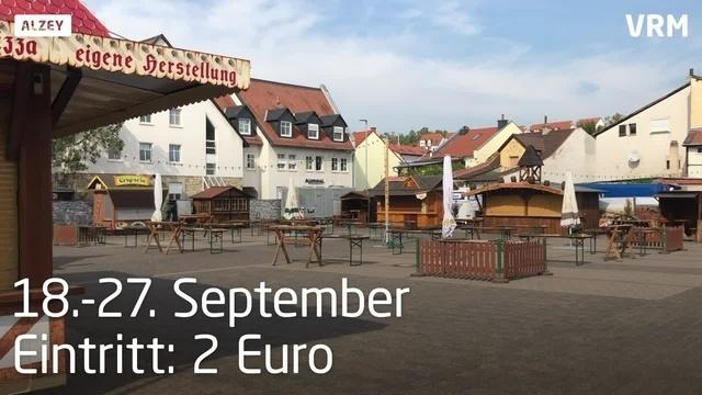 Aufbau des Wein- und Freizeitparks in Alzey