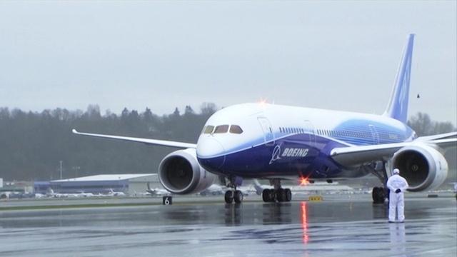 Erstflug der Boeing 787