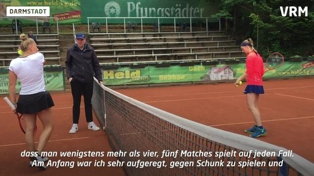 Sieg für die Favoritin bei Tennisturnier in Darmstadt