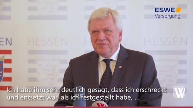 Wiesbaden: Bouffier kritisiert US-Migrationspolitik