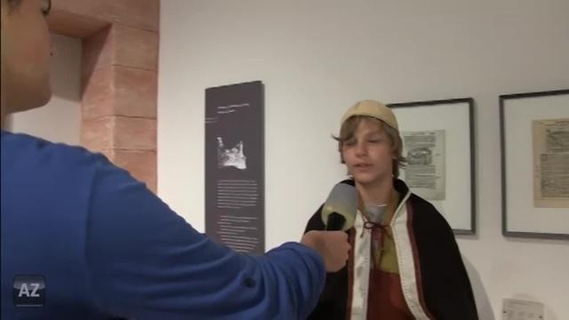Monsterschlau: Besuch im Museum Kaiserpfalz