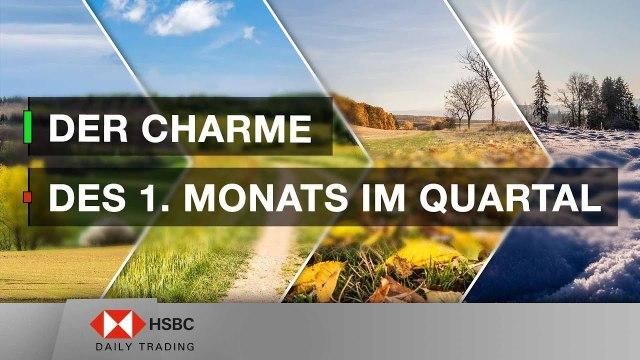 Der Charme des 1. Monats im Quartal - HSBC Daily Trading TV vom 09.04.2019