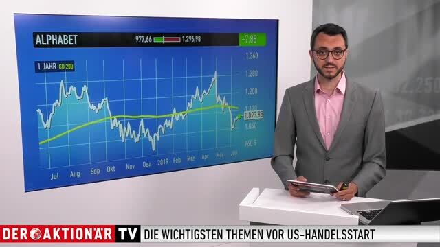 US-Markt: Dow Jones, Diamondback Energy, Amazon, Alphabet, Facebook