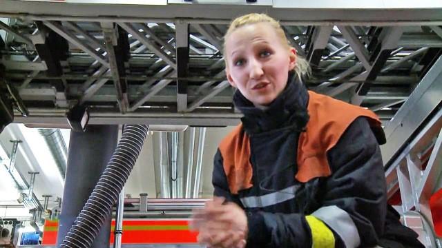 Einsatz für die Feuerwehrfrauen