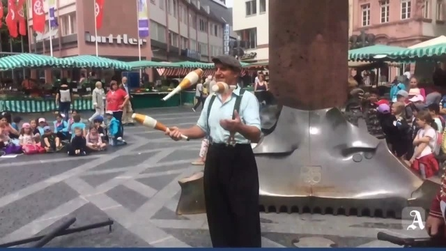 Circus Carelli auf dem Mainzer Marktplatz