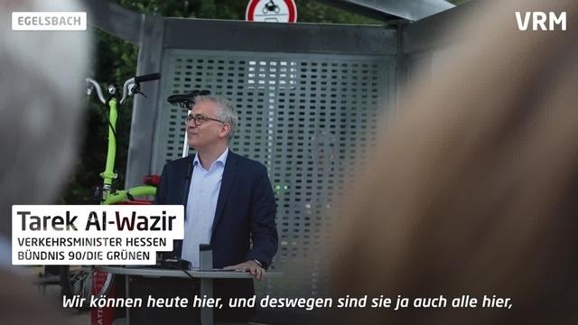 Teilstück von Hessens erster Fahrrad-Autobahn eröffnet