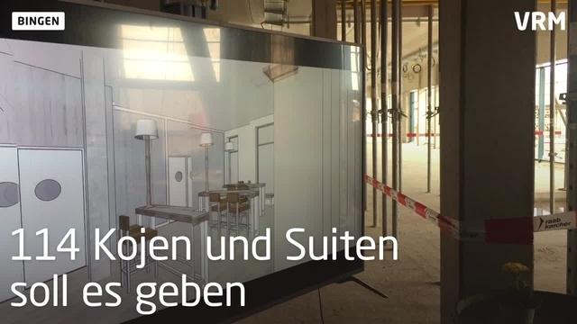 Richtfest für das Binger Hotel Papa Rhein