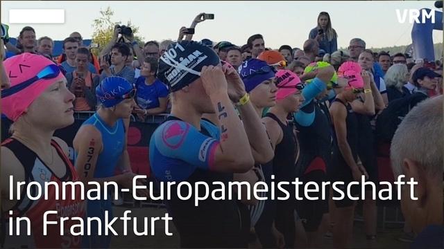Ironman Frankfurt in Frankfurt bei Rekordhitze