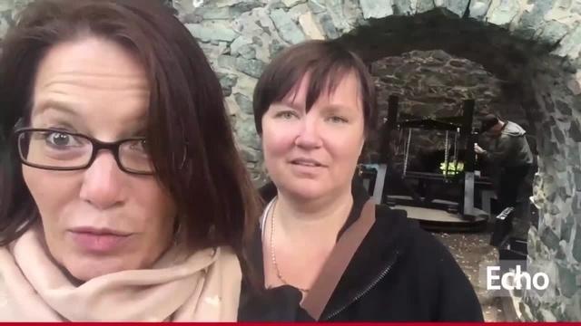 Video: Vorbereitungen auf Burg Frankenstein